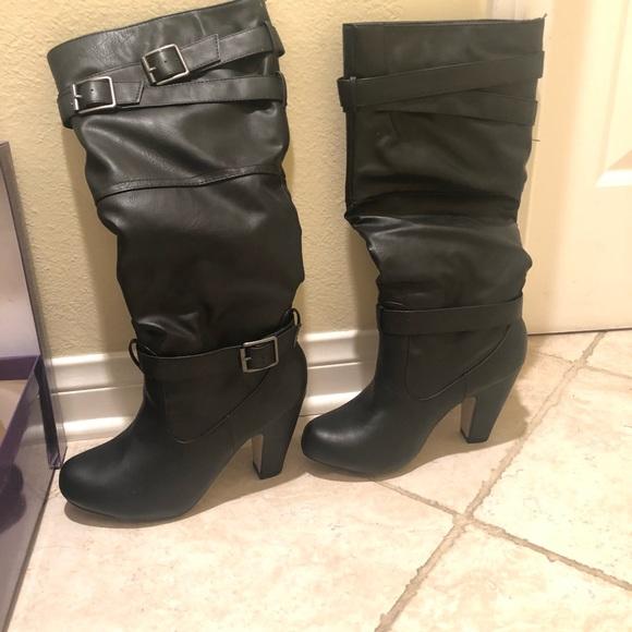 74cc9ecc53e Madden Girl Shoes - Black Madden Girl Wide Calf Boots
